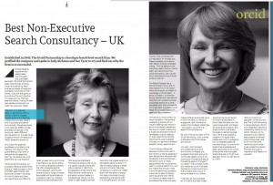 Best Non-Executive Search Consultancy – UK awarded by CV Magazine.